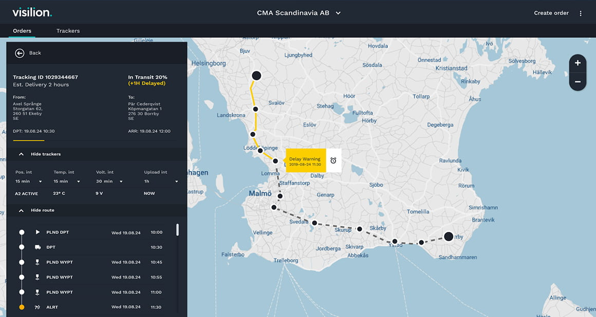Smarter tracking, smoother business